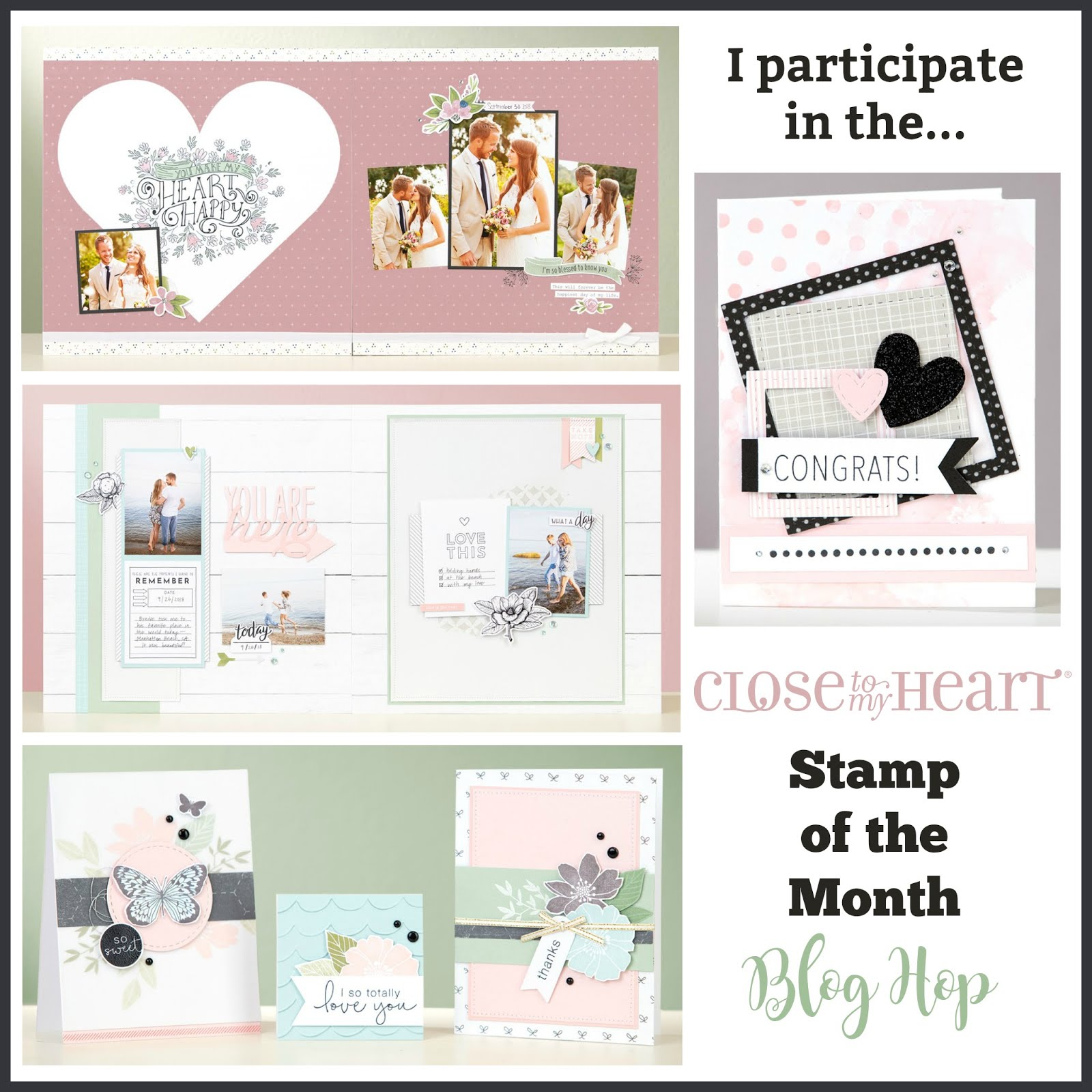 Stamp of the Month Blog Hop!