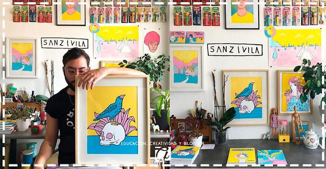 Sanz I Vila: El ilustrador que hace verdaderas maravillas