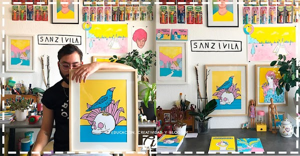 Sanz I Vila: El ilustrador que hace verdaderas maravillas con solo 3 colores