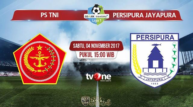 Prediksi Bola : PS TNI Vs Persipura Jayapura , Sabtu 04 November 2017 Pukul 15.00 WIB @ TVONE