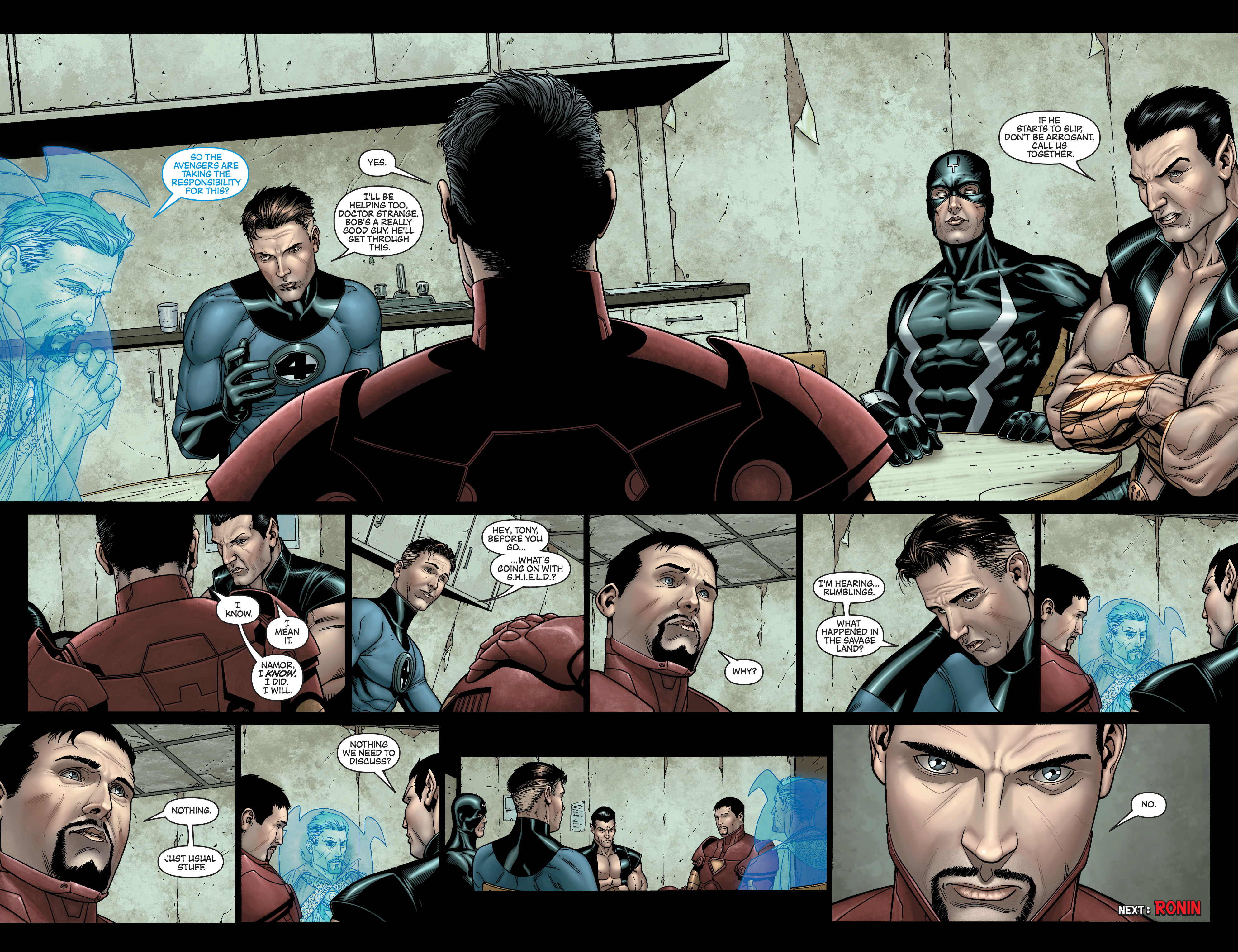 New Avengers (2005) issue 10 - Page 21