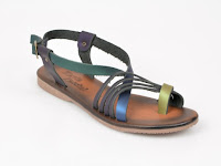 Sandale FLAVIA PASSINI multicolore, din piele naturala .jpg