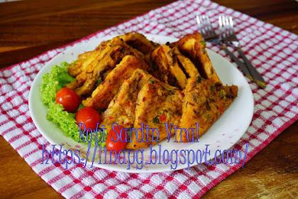 Resepi Roti Sardin Telur Viral