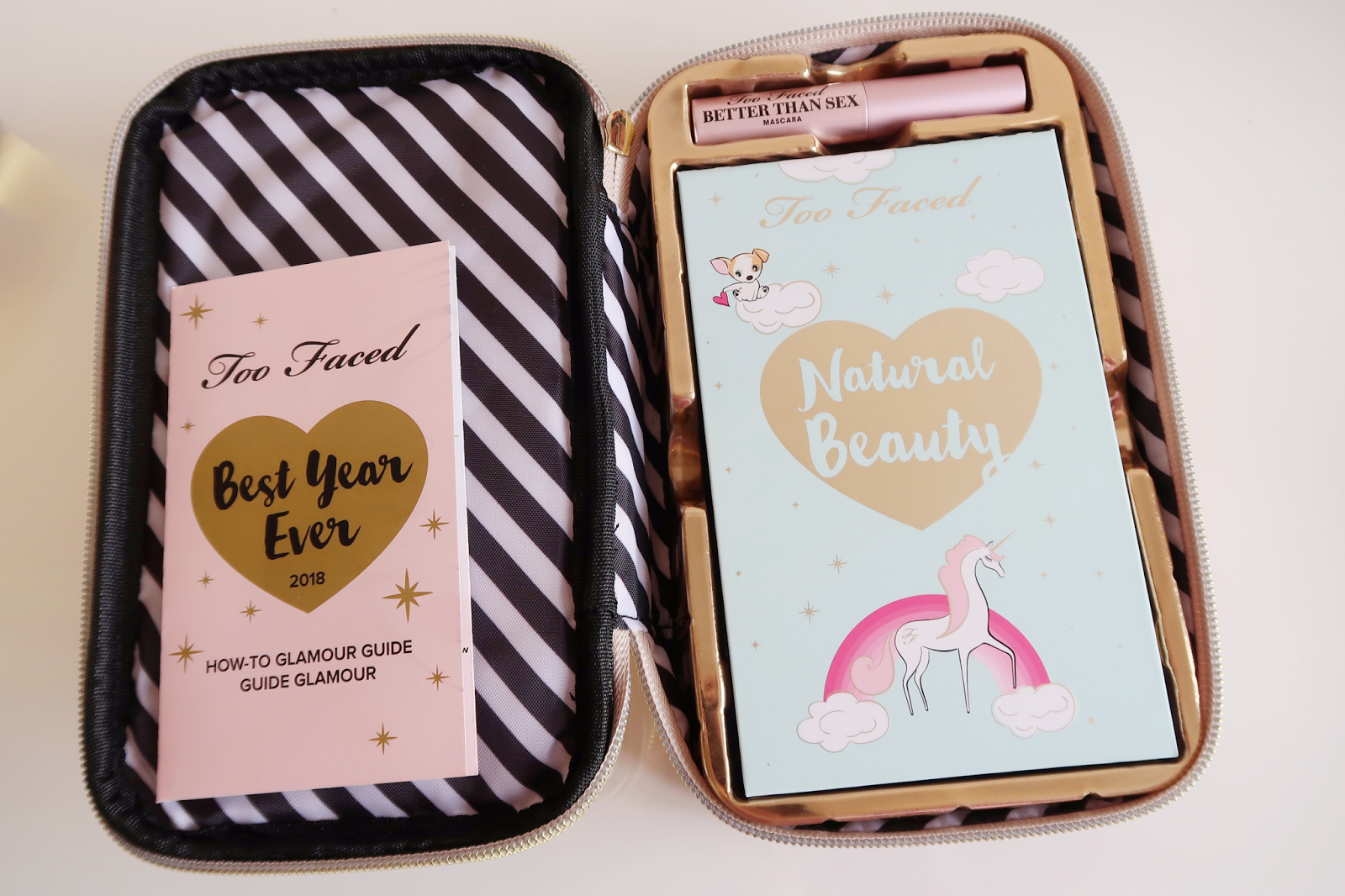Too Faced Christmas 2017 - Pretty Little Planner & Best Year Ever ...