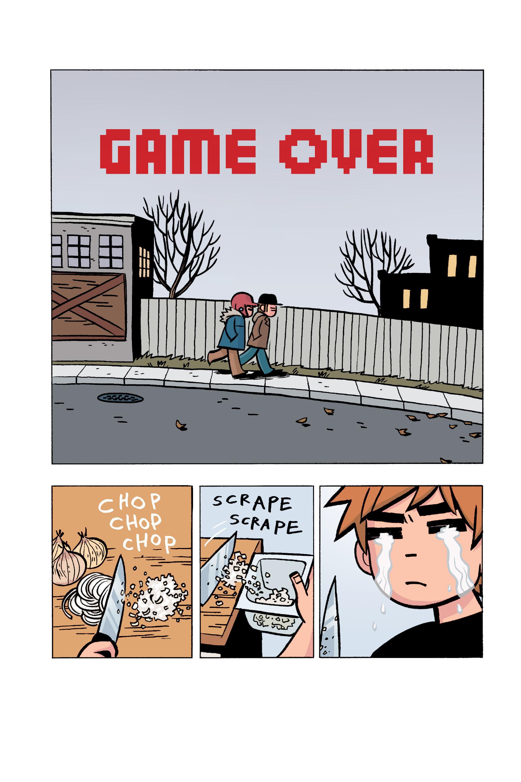 Read online Scott Pilgrim comic -  Issue #5 - 149