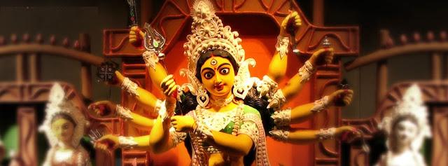 Download Navratri Durga Maa FB Cover Banner