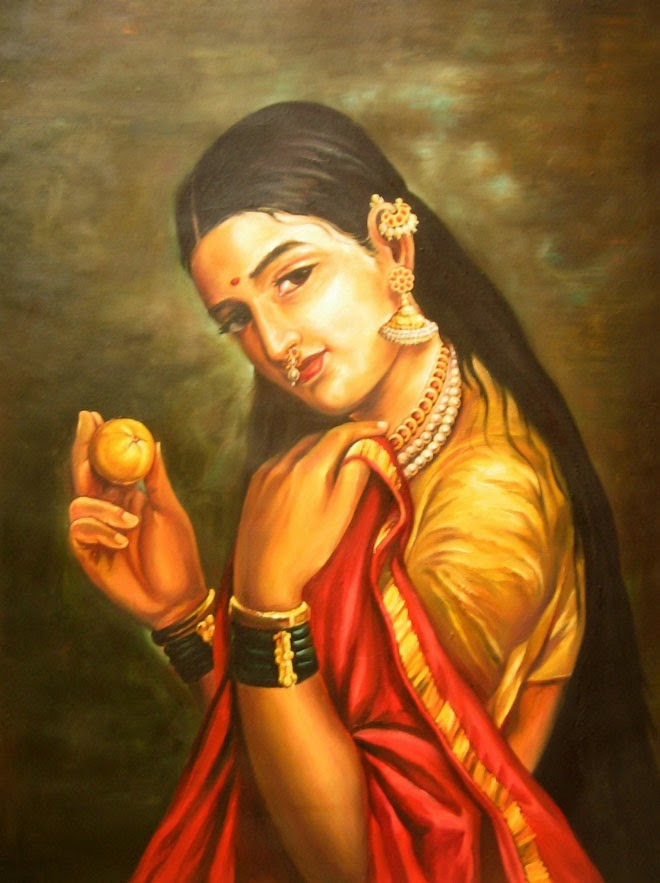 27 Beautiful Paintings By Raja Ravi Verma | Indian Traditional Paintings | 1848-1906