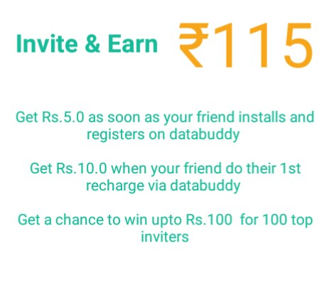 DATABUDDY APP REFER EARN, DATABUDDY APP TRICKS , DATABUDDY TRICKS IN HINDI