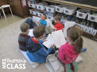 Oral reading activities to practice fluency and expression using Reader's Theater!