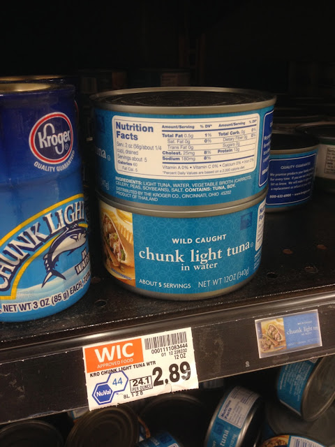 Chunk Light Tuna, 12 oz - Kroger