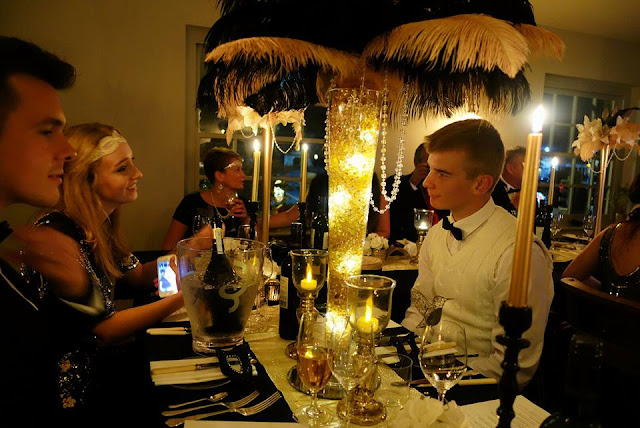 The Rich Gypsy: Dinner at thompsons