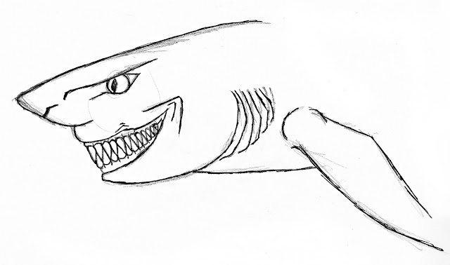 Katy J Negus. BA Hons. CG Arts & Animation: Shark Design