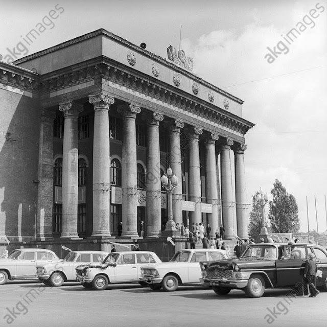 1974 год. Рига. Дом культуры и техники ВЭФ на улице Гагарина