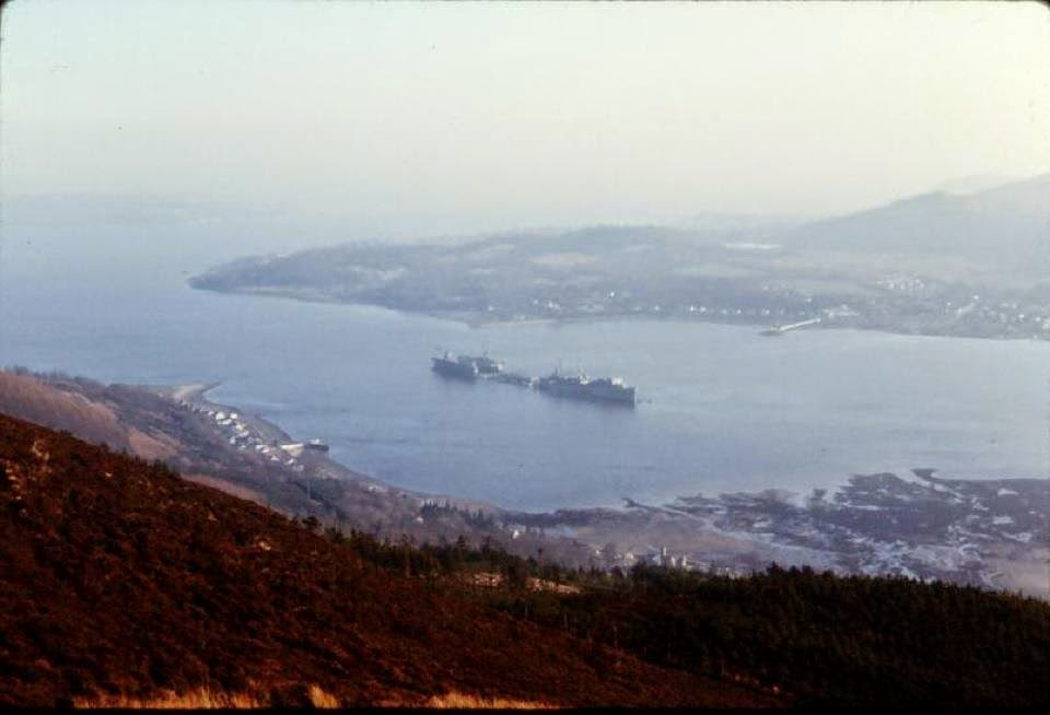 Holy Loch Scotland Map.Paul Davis On Crime Site One A Look Back At The American Nuclear