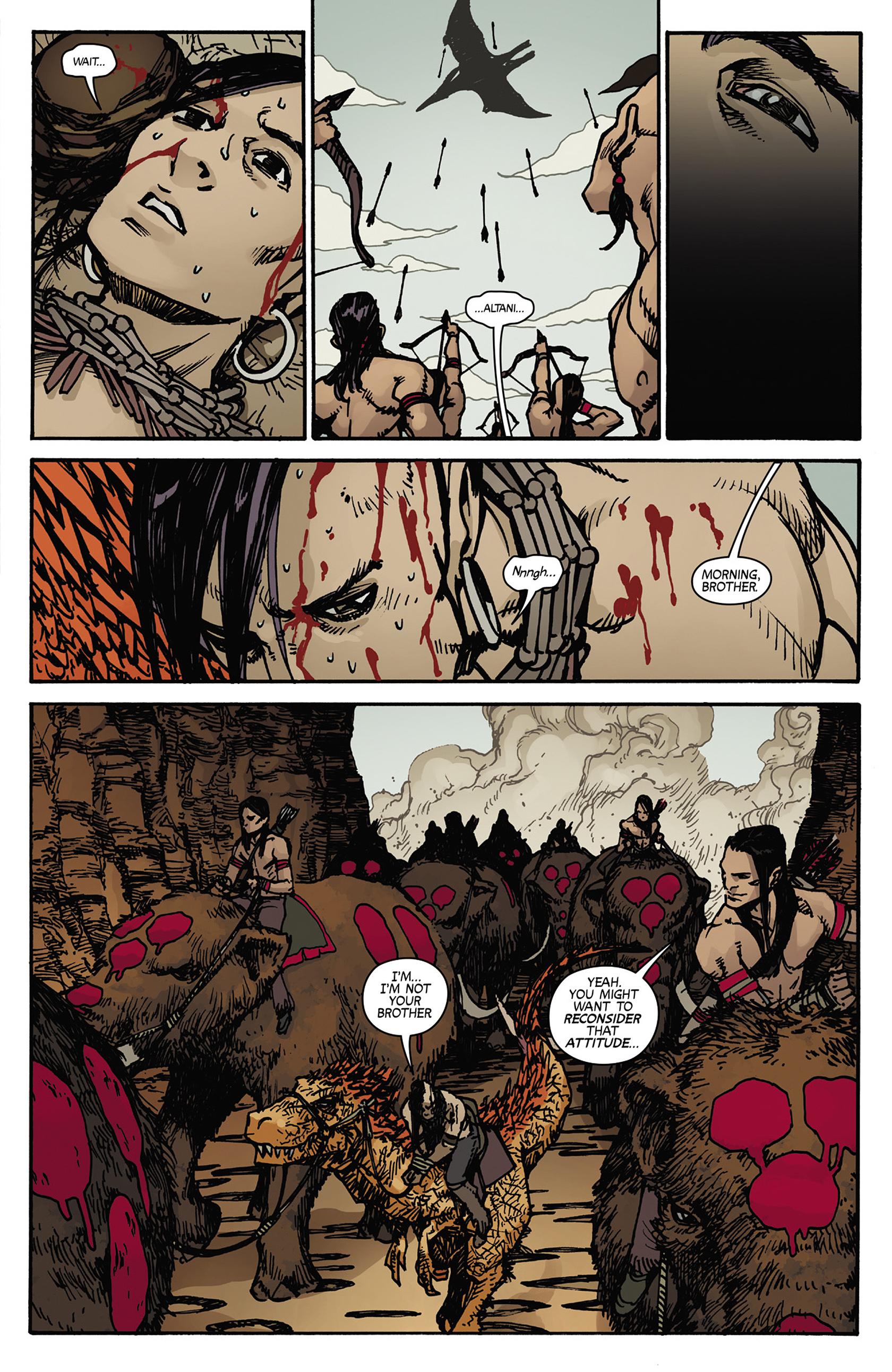 Read online Turok: Dinosaur Hunter (2014) comic -  Issue #5 - 21