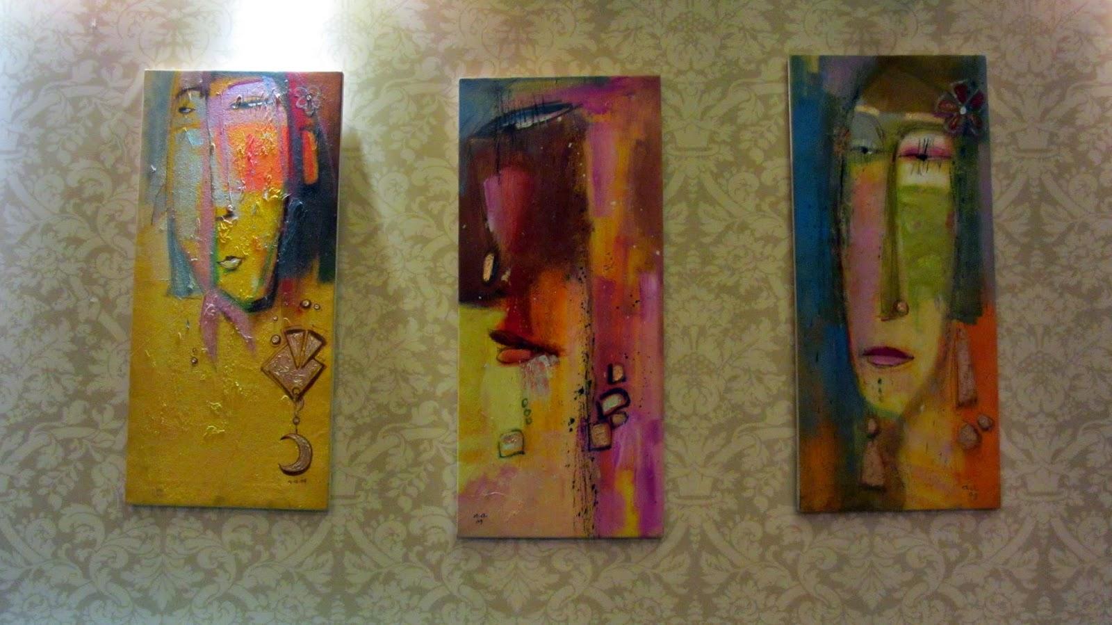 Paintings Acoustic Tea Lounge Al-Khobar Saudi Arabia blogging