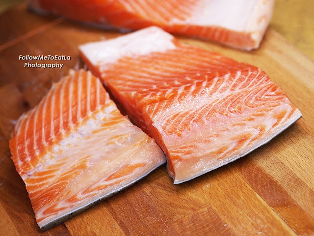 Fresh Cut From The Air-Flown In King Salmon or  Fresh Ocean Trout
