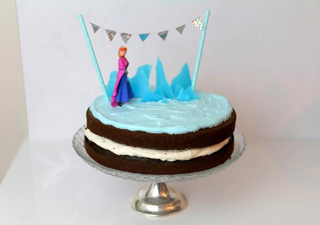 frozen-kakku, frozen cake, syntymäpäiväkakku, synttärikakku, birthday cake