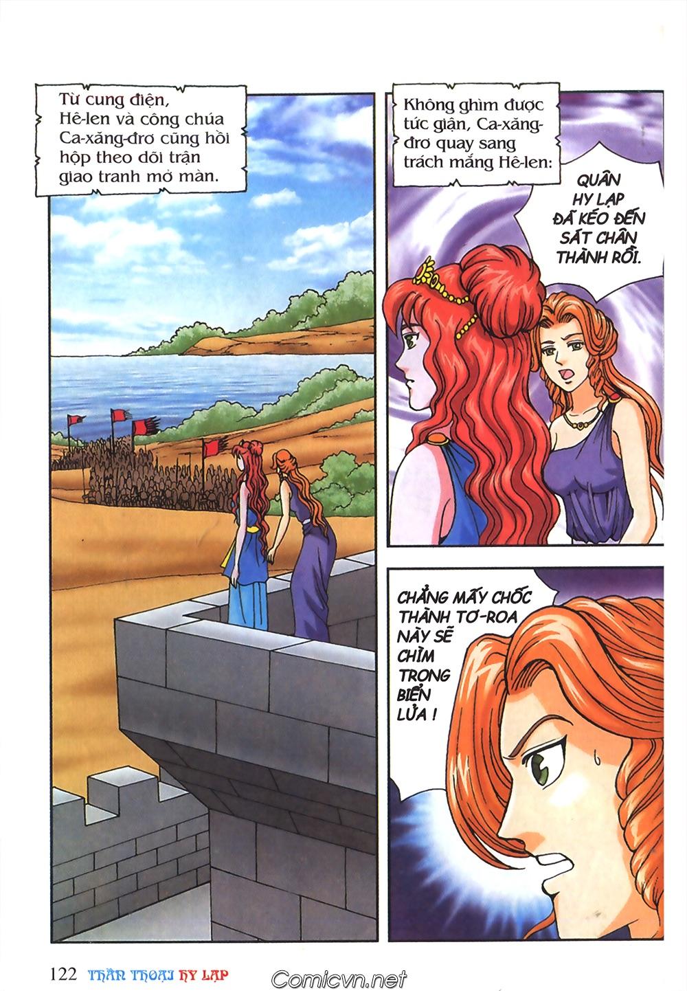 Thần Thoại Hy Lạp Màu - Chapter 55: Trận chiến đầu tiên - Pic 26