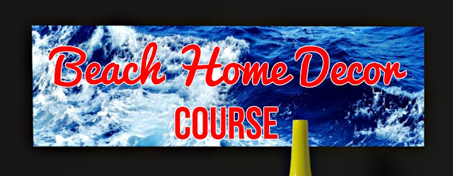 Beach home decor ecourse