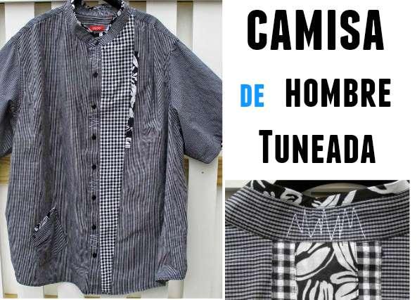 Camisa de hombre tuneada para mujer