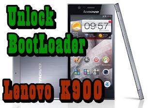 Unlock Bootloader Lenovo K900