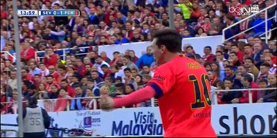 LFP-Week-31 : Sevilla 2 vs 2 Barcelona 11-04-2015