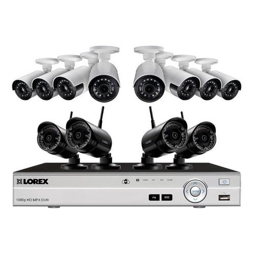 Lorex, LW1684UW Wireless Security Camera System w/ Ultra-Wide Cameras