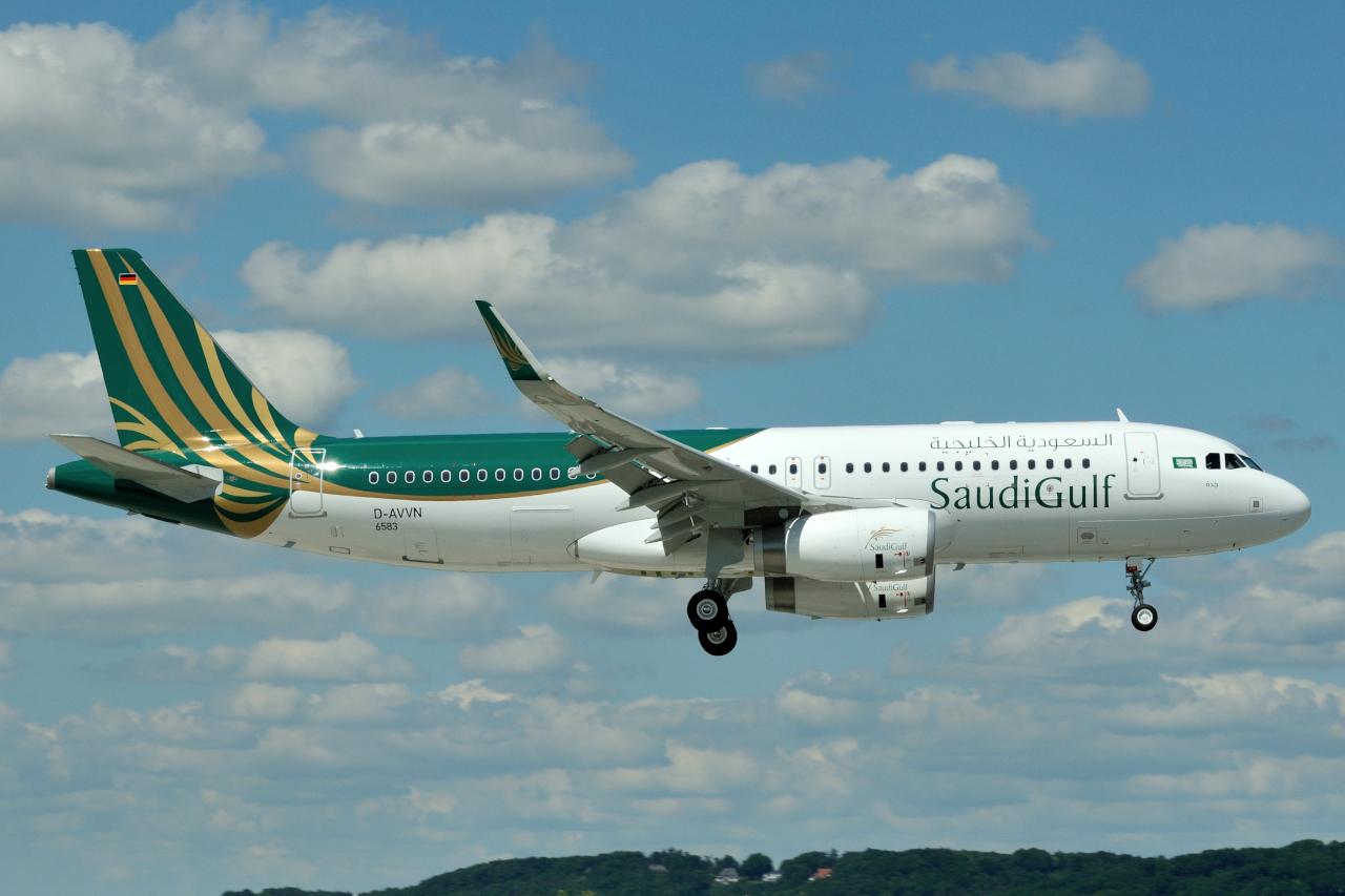 Airbus Hamburg Finkenwerder News: A320-232SL, Saudi Gulf ...