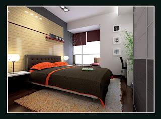 Contoh kamar tidur utama -1
