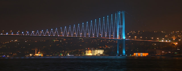 Evening shot Bosphorus Bridge
