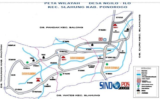 Profil Desa & Kelurahan, Desa Ngilo-ilo Kecamatan Slahung Kabupaten Ponorogo