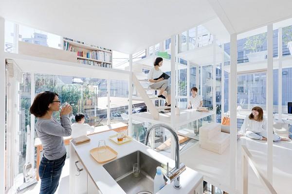 modern house transparent house design-6