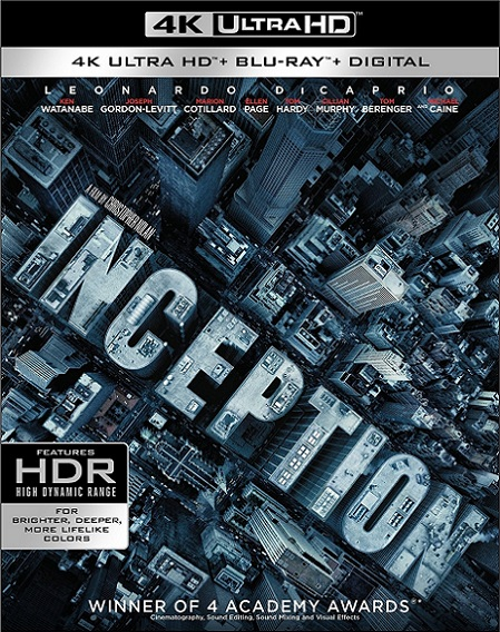 Inception 4K (El Origen 4K) (2010) 2160p 4K UltraHD HDR REMUX 65GB mkv Dual Audio DTS-HD 5.1 ch