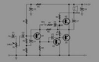 12 Volt Audio Amplifier Using Transistor Circuit Diagram Circuit
