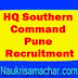 HQ Southern Command Pune Recruitment 2018 - 818 LDC, Tradesman Mate & Other Posts