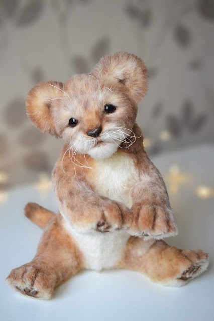 Lifelike Animals Soft Sculpture Artist Toys