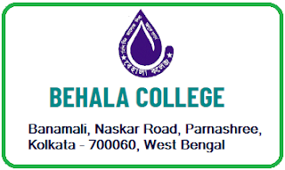 Behala College, Banamali, Naskar Road, Parnashree, Kolkata - 700060, West Bengal