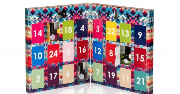 beauty advent calendars polka spots and freckle dots. Black Bedroom Furniture Sets. Home Design Ideas
