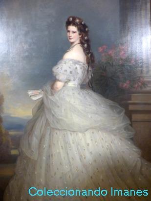 Sissí emperatriz, retrato en Viena