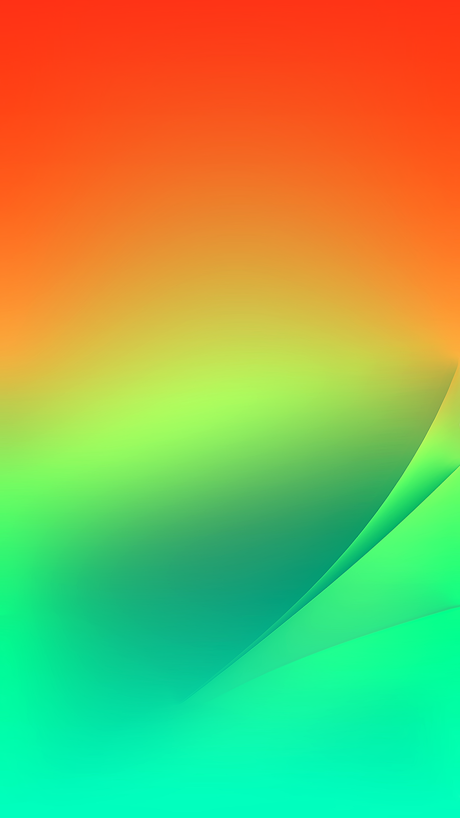 Aura GreenOrange by AR72014 (iPhone X/XS/XR/XSMAX)