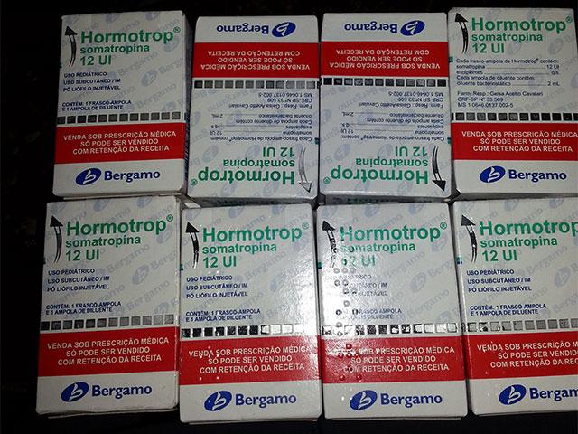 Medicamento Hormotrop 12 UI - Foto: Reprodução