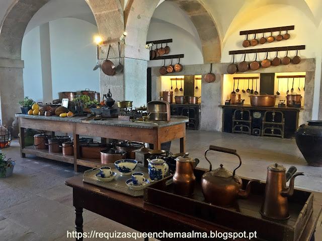 Cozinha principal, Palácio da Pena