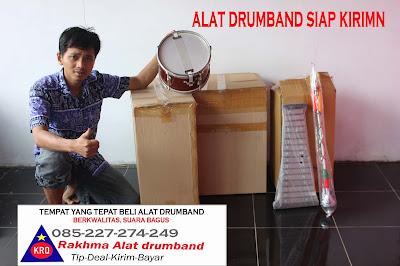 alat musik drumband musik drum band lengkap pemukul drum dari rakhma konveksi jual alat musik drum