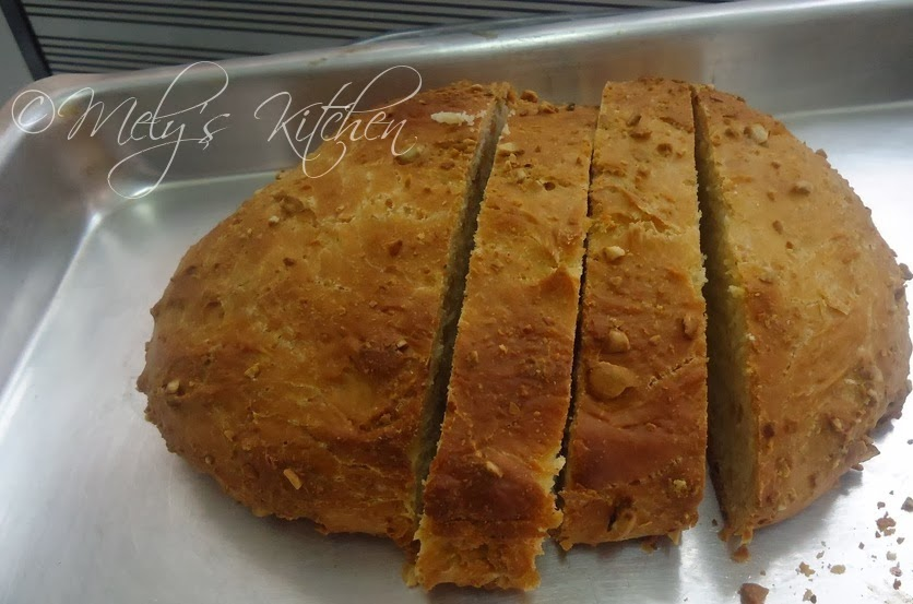 Cashew Nut Bread - Mely's kitchen