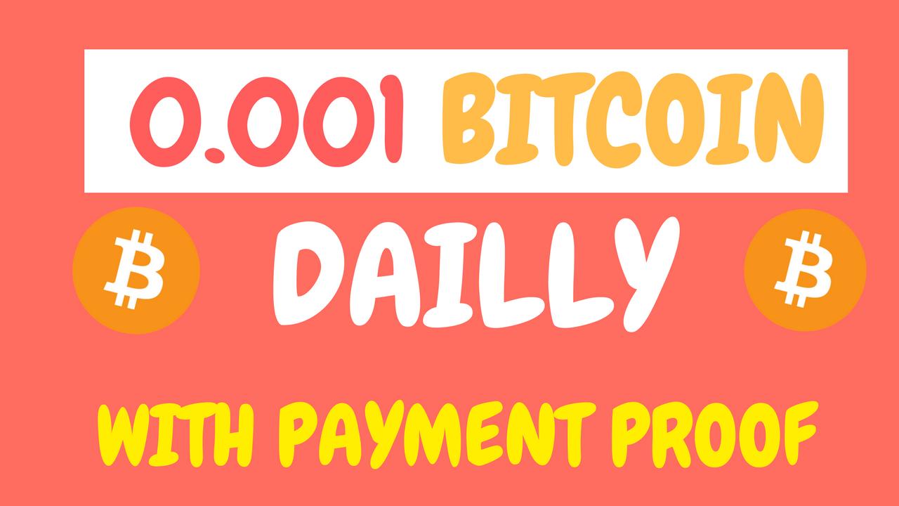 0,001 bitcoin