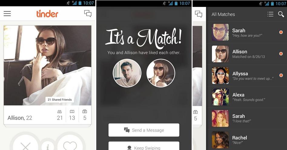 New dating app like tinder