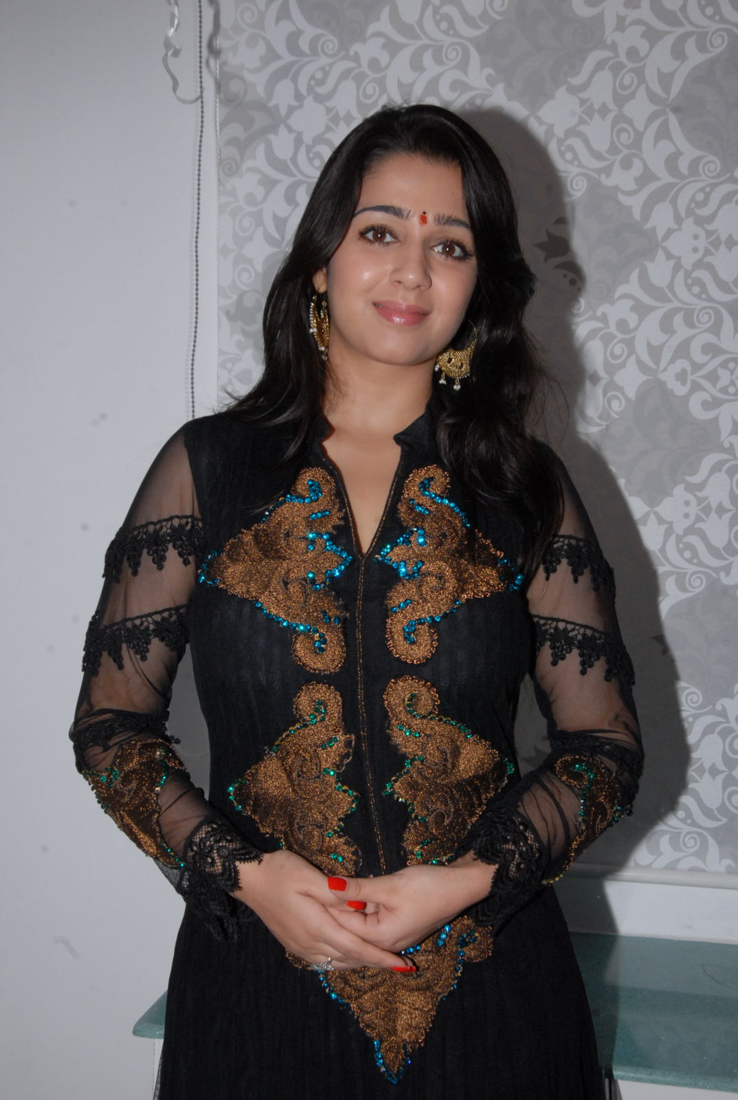splendid hot winning Charmi new gorgeous pics at cosmetology clinic launch