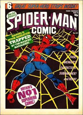 Spider-Man Comic #323