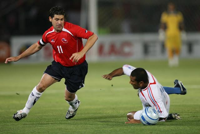 Chile y Paraguay en Clasificatorias a Sudáfrica 2010, 21 de noviembre de 2007
